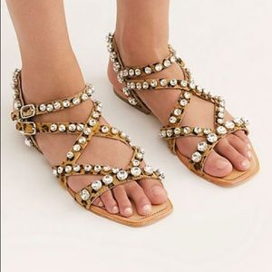 """Jeffery Campbell """"one fine day"""" sandals"""